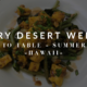 Farm to Table: Dry Desert Week