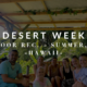 Outdoor Recreation: Desert Week