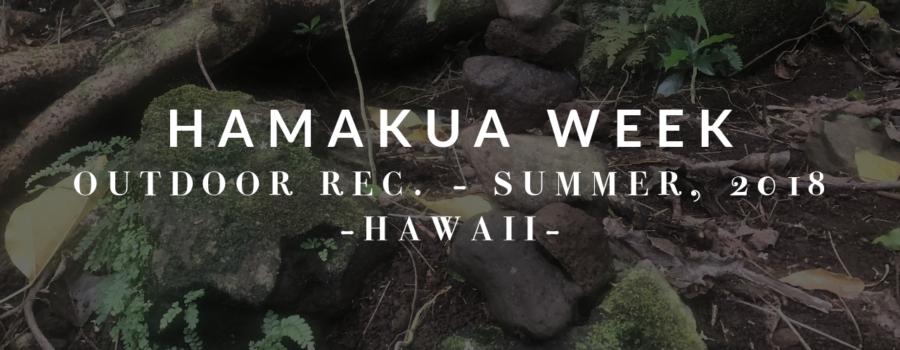 Hamakua Week