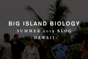 Big Island Biology Blog 2019
