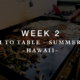 Farm to Table – Week 2