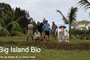 Big Island Farms Biology Project 2019